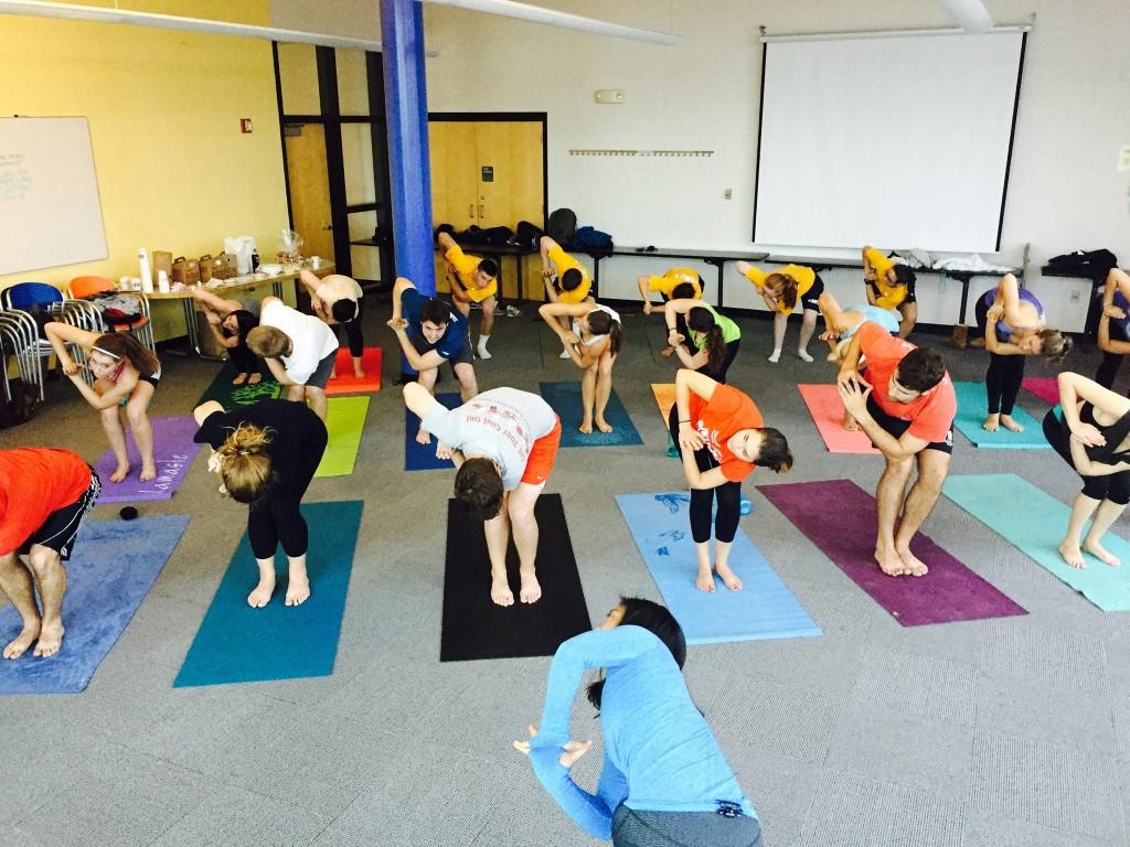 gabs yoga class
