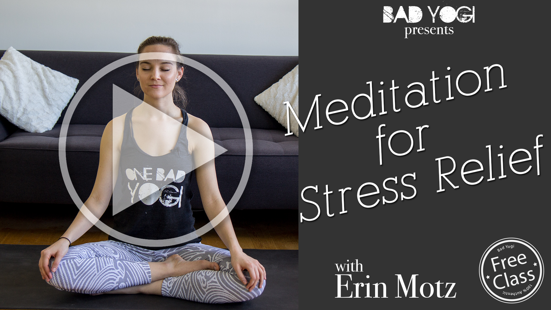 free stress relief guided meditation