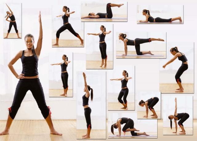 Rihanna Yoga