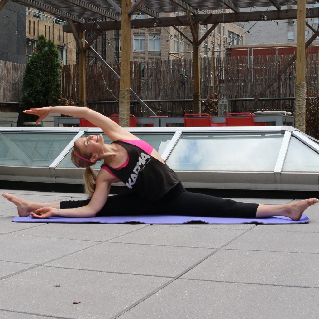 Heidi Kristoffer - Seated Side Bend
