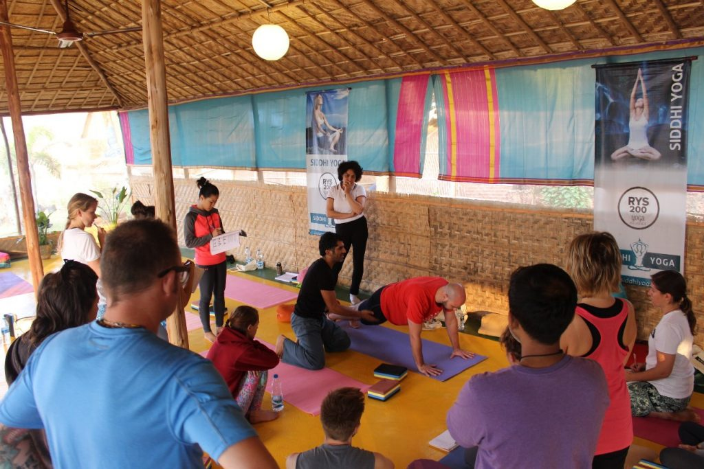 teach yoga at yoga teacher training
