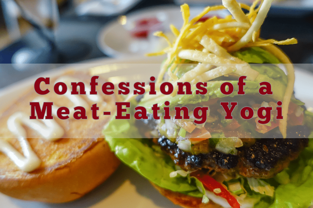 confessions of a meat-eating yogi