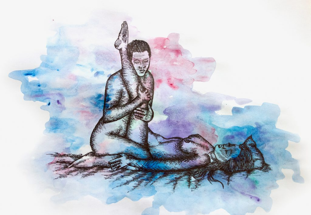 6 Kama Sutra Positions For Wonderful Intimacy Nsfw Bad Yogi