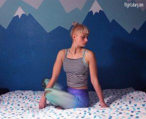 7 bedtime yoga poses for a good night's sleep  bad yogi blog