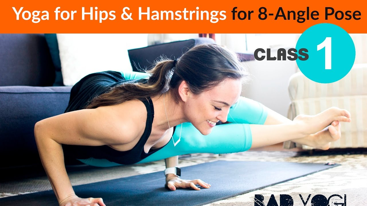 Class 338: Intermediate Yoga for Hips & Hamstrings for 38-Angle Pose