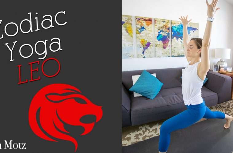 Zodiac Yoga Leo Bad Yogi