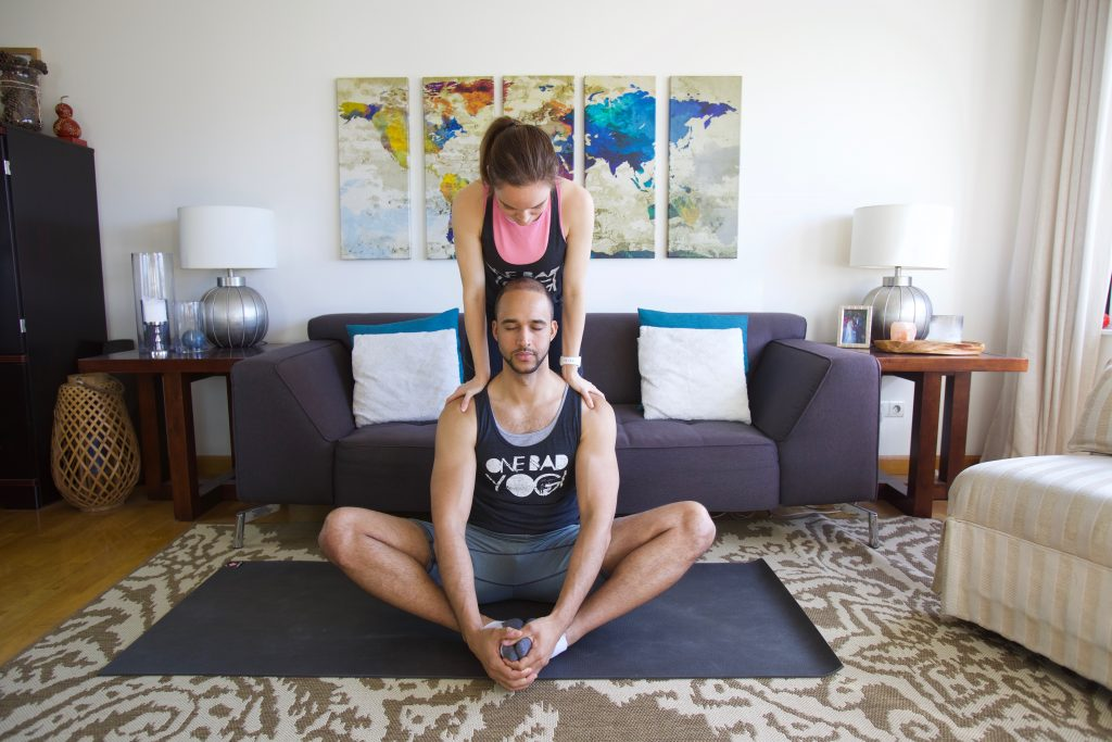 Partner Yoga Shoulder Release