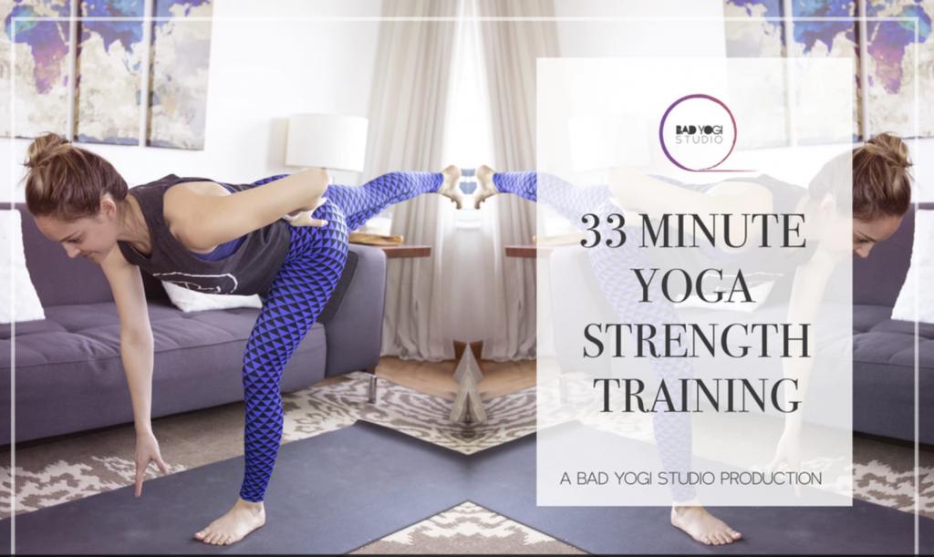 bad yogi studio yoga strength training