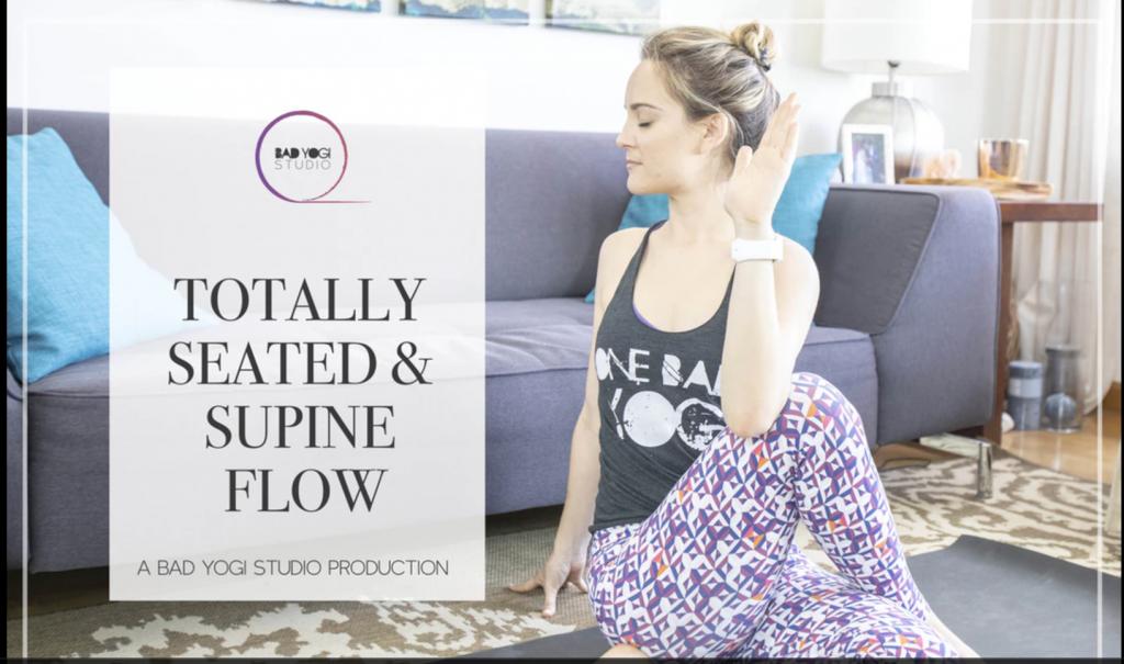 bad yogi totally seated and supine flow