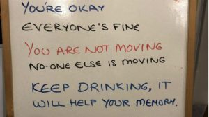 Awesome Person of the Week: Daughter Reassures Dementia Mother with Messages on a Whiteboard Bad Yogi