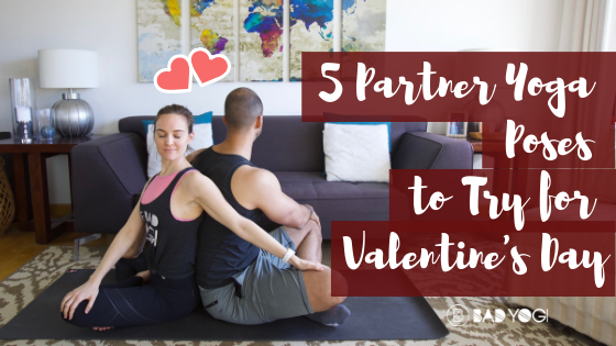 5 partner yoga poses for valentine's day