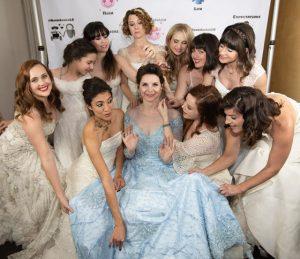 Bride Lets Her Friends Wear Their Wedding Dresses to Her Wedding Bad Yogi