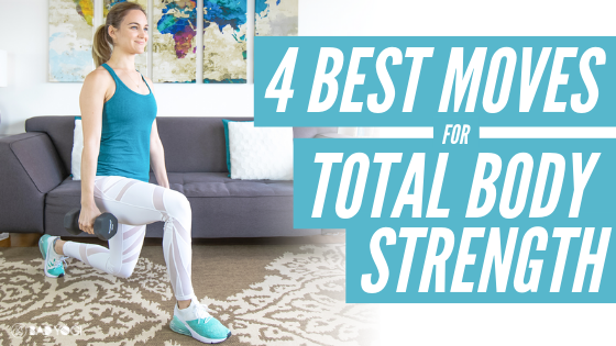 4 best moves for total body strength bad yogi