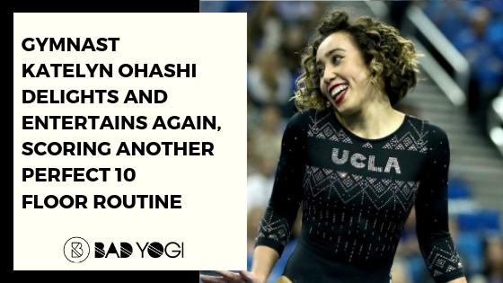 Gymnast Katelyn Ohashi Delights and