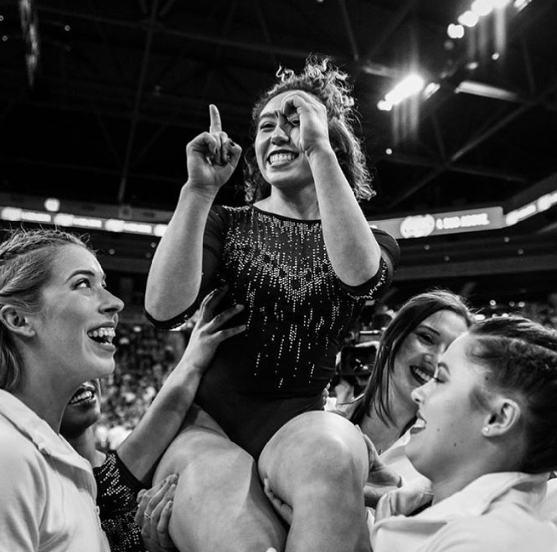 Gymnast Katelyn Ohashi Delights And Entertains Again
