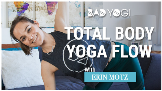Total Body Yoga Flow Bad Yogi Feature