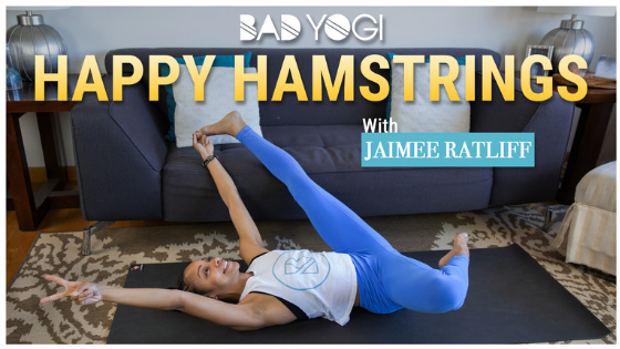 happy hamstrings yoga flow with jaimee ratliff