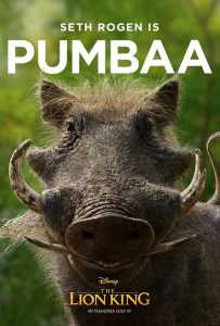 """""""The Lion King's"""" New Poster of Pumbaa Has Some People Furious_Bad Yogi"""