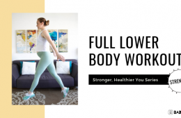 Full Lower Body Workout Bad Yogi