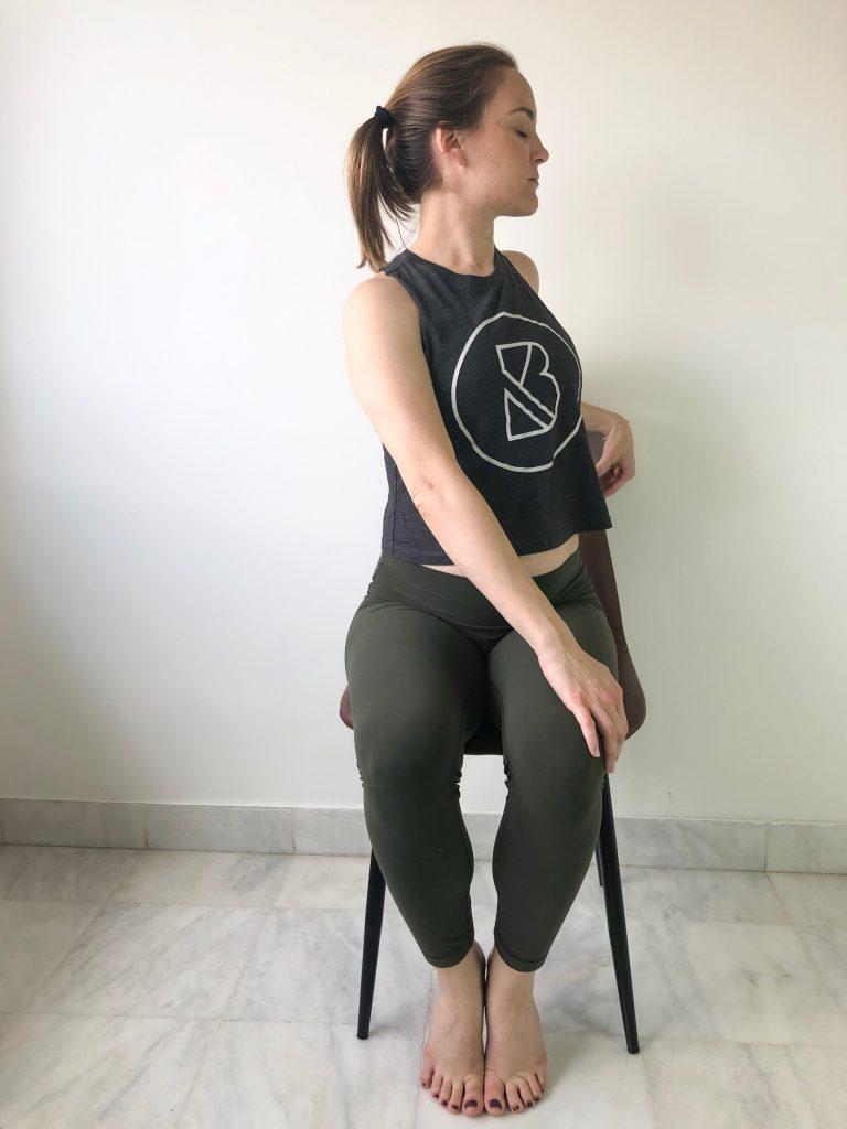 bad yogi yoga for seniors chair twist