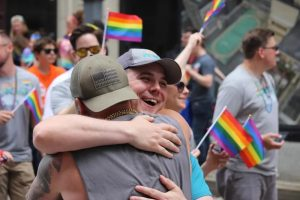 What This Man Did at a Pride Parade Will Make You Cry_Bad Yogi