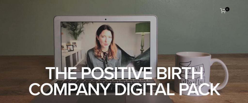 positive birth company digital pack review