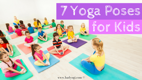 7 Yoga Poses For Kids