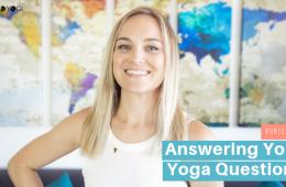 August Q&A bad yogi blog Feat
