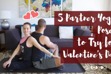 5 partner yoga poses for valentine's day