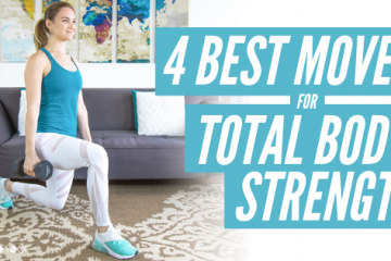 4 best moves for total body strength bad yogi