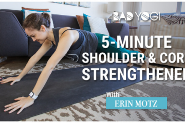 5 minute shoulder and core strengthener feat