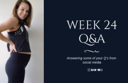 Week 24 Q&A blog feat