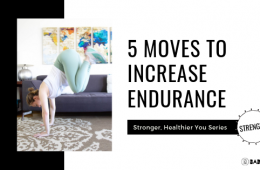 5 Moves to Increase Endurance