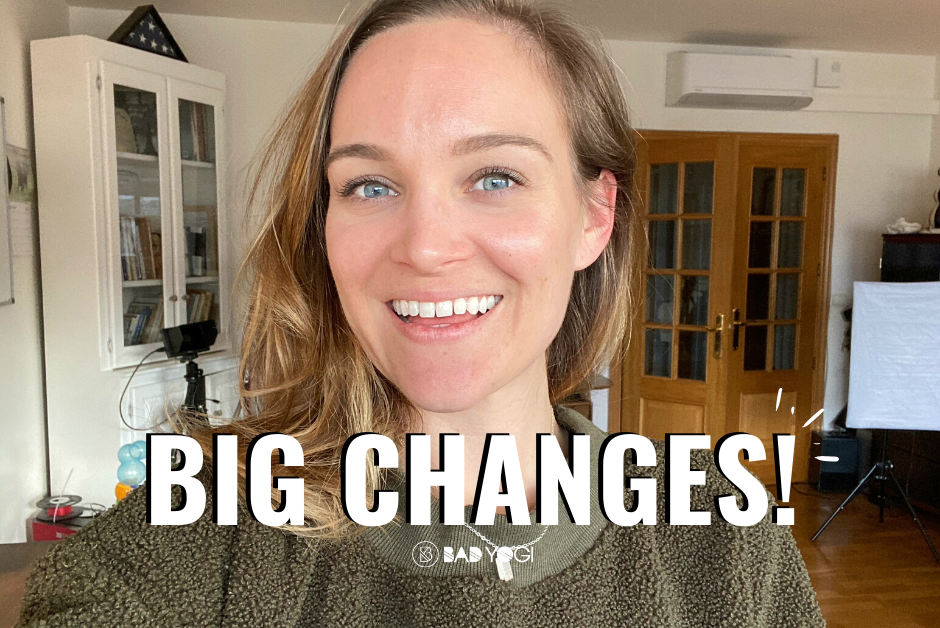 bad yogi big changes! blog feat