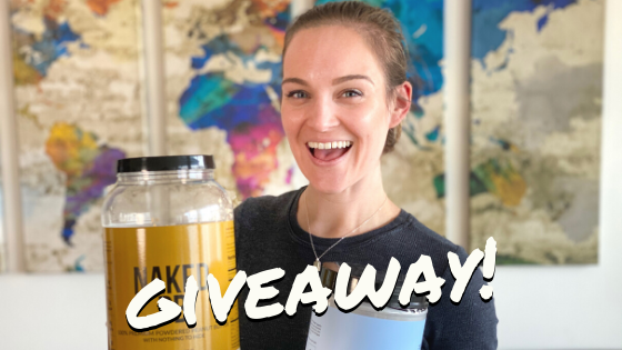 Naked Protein Giveaway Bad Yogi Blog Feat